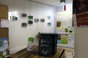 Exposition sur le compostage