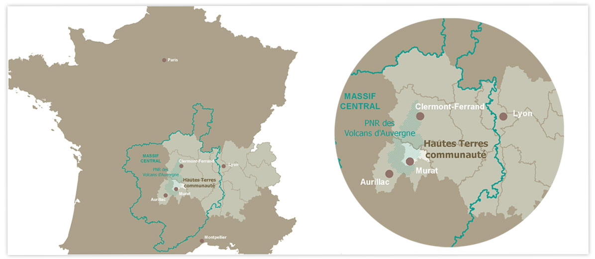 Hautes Terres Communauté en France