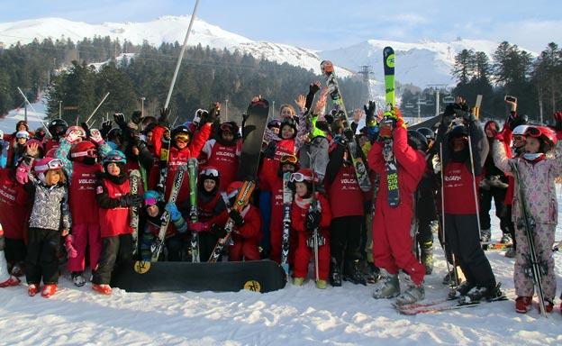 Sortie ski au Lioran