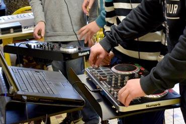 SPOT activité musique